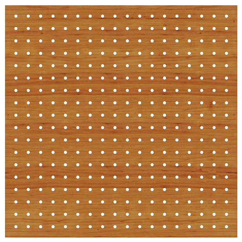 1000 delikli akustik ahşap panel 101
