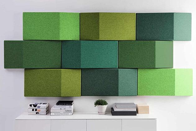 3d akustik kumaş kaplı duvar paneli m2 fiyatı