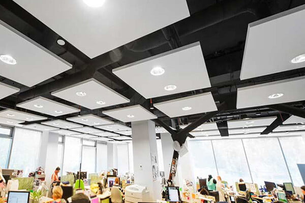 akustik acrux ledli tavan paneli