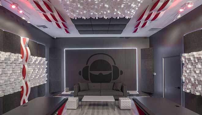 akustik ahşap difüzör panel ses yalıtımı
