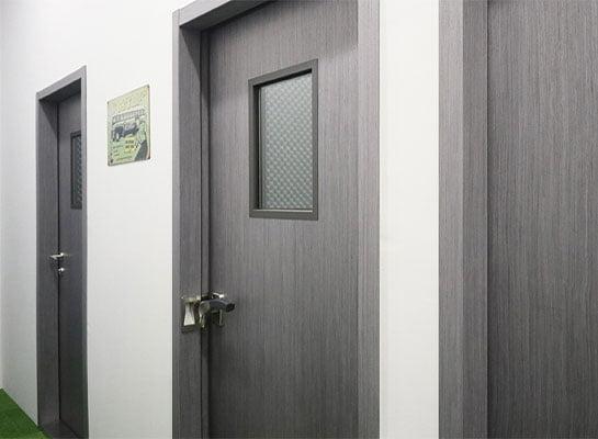akustik camlı ses yalıtımlı kapı