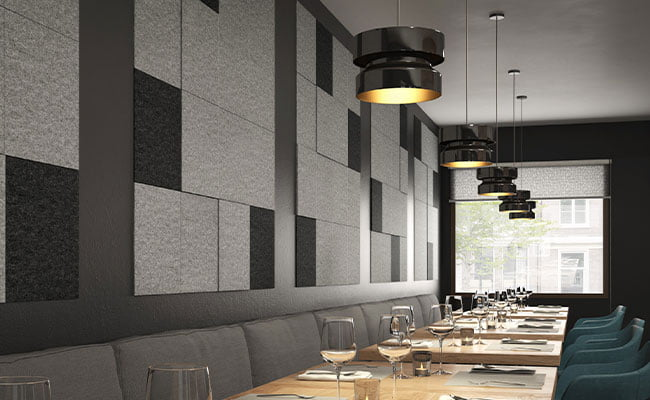 akustik keçe duvar paneli