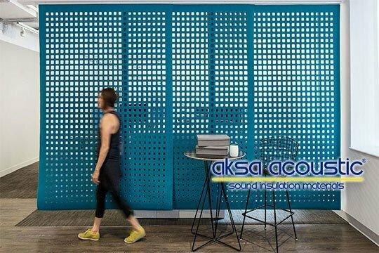 akustik keçe perde m2 fiyatları