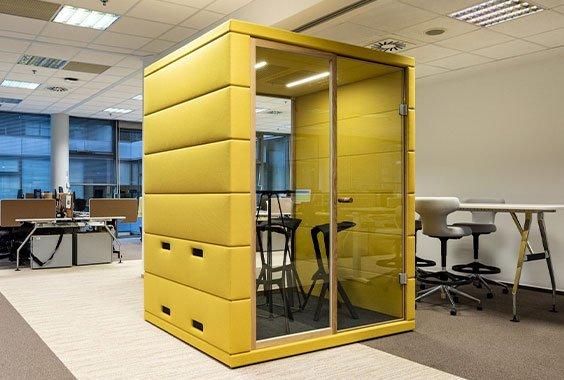 akustik ofis toplantı kabini