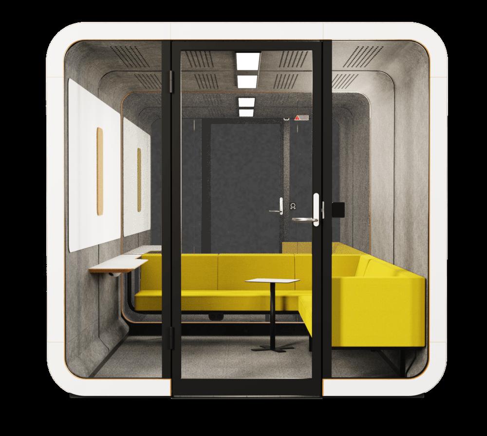 akustik ofis toplantı odası ses yalıtımlı kabin