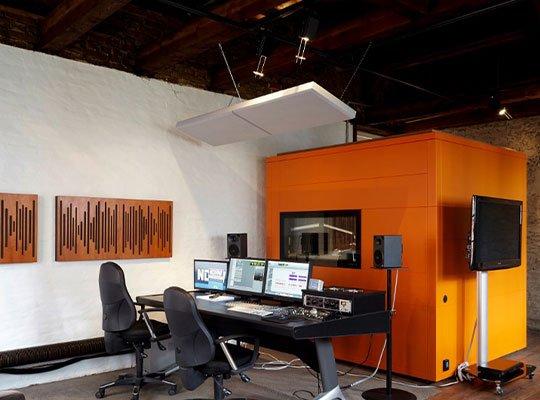 akustik stüdyo ses kayıt kabini