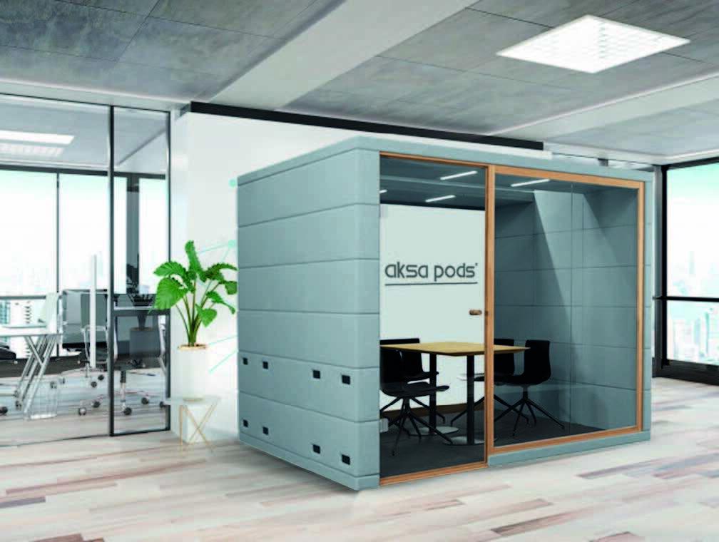 akustik toplantı görüşme kabini