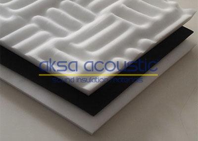 bariyerli basotect melamin sünger aksa acoustic