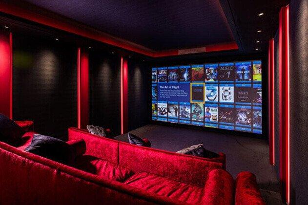 home cinema akustik ses yalıtımı izolasyonu