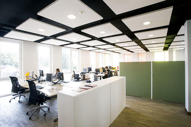 ofis akustiği ses yalıtımı izolasyonu düzenleme