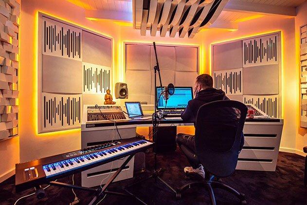 stüdyo ses kayıt odası akustik ses yalıtımı malzemeleri