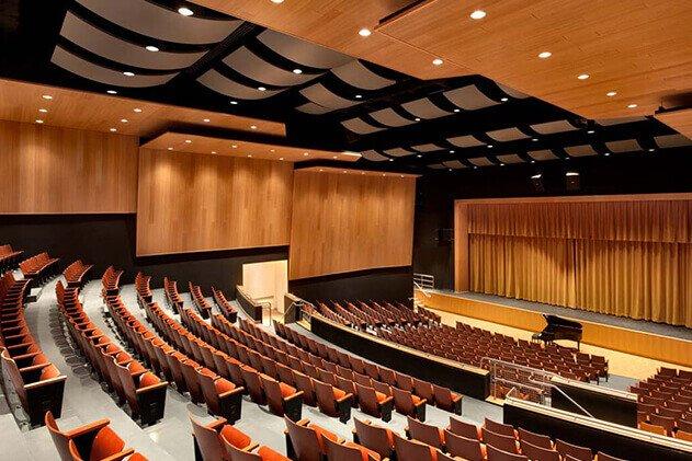 tiyatro salonu akustik kaplama ses yalıtımı