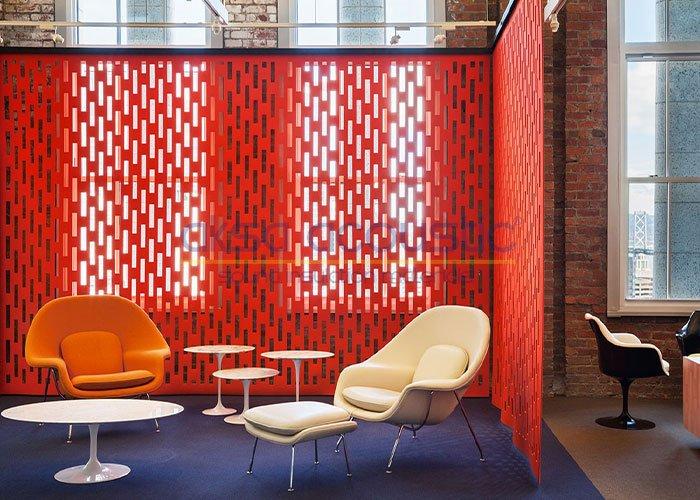 acoustic office screen curtain