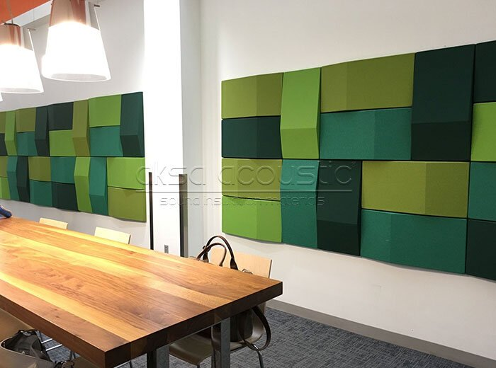 acoustic trilene fabric panels
