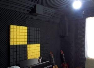 akustik stüdyo süngeri