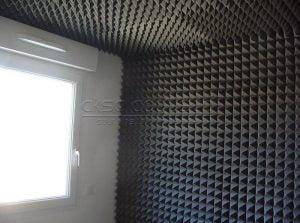 bariyerli akustik sünger duvar kaplama