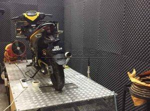 bariyerli akustik sünger test odası gürültü kontrolü